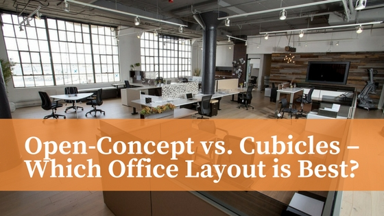 open concept vs cubicles which office layout is best fuhrmann