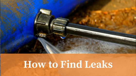 How to Find Leaks